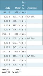 Totales de lista siempre visibles_Captura de pantalla Tryton 5.8