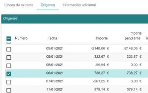 Captura de pantalla Tryton_Conciliación bancaria